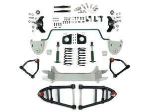 Helix Suspension Brakes and Steering HEXIFS1062422SBK2DROP Mustang II 2 IFS Front End kit for 52-79 Triumph Stage 2 Standard Spindle