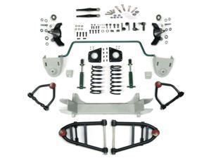 Helix Suspension Brakes and Steering HEXIFS1062391SBK2DROP Mustang II 2 IFS Front End kit for 51-65 Cadillac Stage 2 Standard Spindle