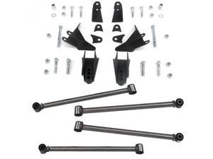 Triangulated Rear Suspension Four 4 Link Kit for 65-70 Plymouth Fury kustom deluxe greaser track slammed master v8 project car lowered hot rod hi boy race rodstyle model a super rat rod street rod