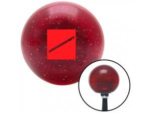 American Shifter Company ASCSNX39697 Red Seaman Recruit Red Metal Flake Shift Knob with 16mm x 1.5 Insert