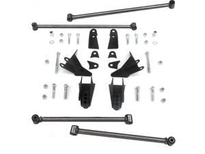 Helix Suspension Brakes and Steering LH213510 2004 Ford Ranger Heavy Duty Triangulated Rear Suspension Four 4 Link Kit ~ rat