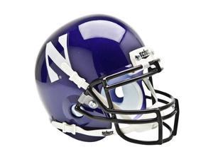 Northwestern Wildcats NCAA Authentic Mini 1/4 Size Helmet