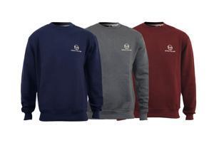 Mens Sergio Tacchini Crew Neck Sweatshirt Jumper Top Size S M L XL XXL