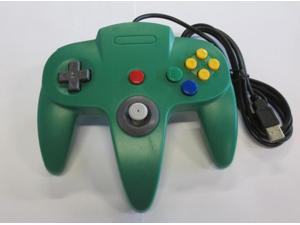 Nintendo N64 USB Controller - Green - by Mars Devices