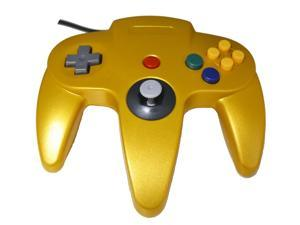 N64 USB Controller - Gold - for Windows, Mac, and Linux by Mars Devices