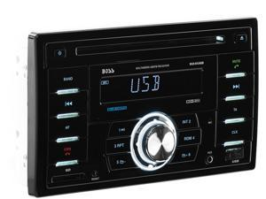 BOSS Audio 824UAB In-Dash Double-DIN Bluetooth MP3 Player