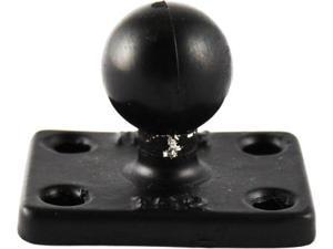 Ram Rectangle Base W/1  Ball 1.5 X2 Ram-B-202U-152