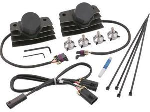 Accel Stealth Supercoil Black Fuel Injected Softail 140411Bi
