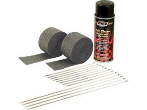 Dei Exhaust Pipe Wrap Kit Black Wrap W/Black Coating 901330