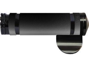 Avon Air Ss Grips W/Throttle Boss Cable (Black) Air-99-Ano-Boss