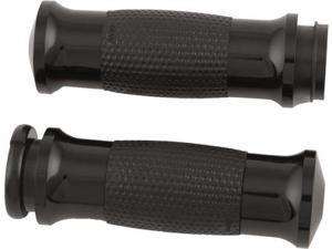 Avon Air Gel Grips W/F-B-W Throttle (Black) Gel-70-Ano-Fly