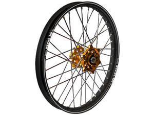 Talon Wheel 1.60X21 Gld Hub Blk Rim 56-1141Gb