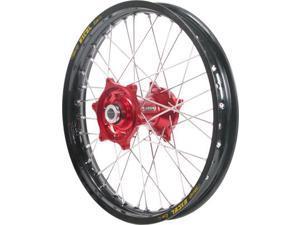 Talon Wheel 1.60X21 Red Hub Blk Rim 56-3000Rb