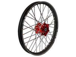 Talon Wheel 2.15X18 Red Hub Blk Rim 56-3153Rb