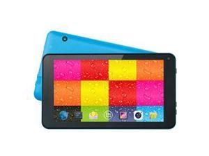 "SUPERSONIC SC-4207Blue Allwinner Cortex A7 512 MB Memory 4 GB Flash Storage 7.0"" Touchscreen Tablet Android 4.4 (KitKat)"
