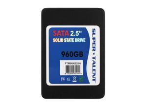 Super Talent TeraNova 960GB 2.5 inch SATA3 Solid State Drive (MLC)