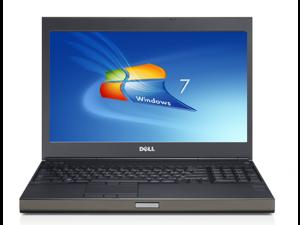 Dell m6500 precision work station laptop-quad core-i7 q720 1.6ghz-8gb ram-250ghz  hard drive-windows 10-display 1920x1200-nvidia quadro fx 2800m graphics-dvdrw-good battery