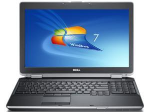 Dell latitude e6540 laptop computer-intel i5 4300m 2.6ghz-8gb ddr3 ram-320gb hard drive-dvdrw-windows 7 pro 64bit-display 1366x768-intel HD graphics good battery dell adapter