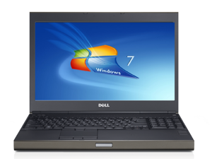 Dell m6500 precision work station laptop-quad core-i7 x920 2.0ghz-16gb ram-500ghz  hard drive-windows 7 pro 64bit-display 1920x1200-ati fire pro m7820 graphics-dvd-rom-good battery
