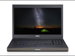 Dell m6500 precision work station laptop-quad core-i7 q720 1.6ghz-12gb ram-500gb sata hard drive-windows 10-display 1440x900-nvidia quadro fx 2800m graphics-dvdrw-good battery