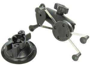 RAM Mounts (RAM-B-166-UN10U) Twist Lock Suction Cup Mount with Universal X-Grip