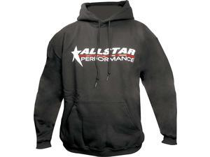 Allstar Performance Black Hooded Allstar Logo Large Sweatshirt P/N 99913L