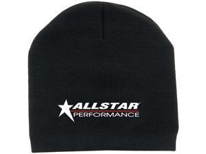 Allstar Performance Black Beanie Hat P/N 99953