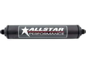 Allstar Performance 8 AN Inline Aluminum Fuel Filter P/N 40244