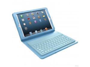 Bluetooth Keyboard Case for iPad Mini- Blue