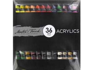 Master's Touch Acrylic 36-Piece Paint Set