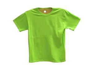 Youth Medium Lime Short Sleeve T-Shirt