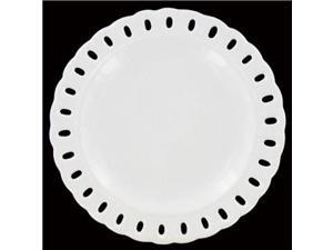 Decorative Slotted Ceramic Plate