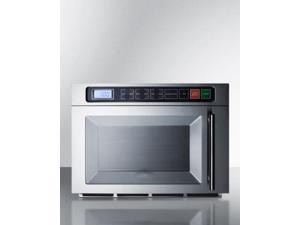 """Summit  SCM1800M2 20"""" 1.1 Cu.Ft. Countertop Commercial Microwave with Digital Controls  Multi-stage Cooking  10"""