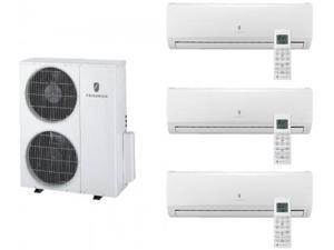 Friedrich  Multi-Zone Ductless Split System for 3 Rooms  with 34 000 BTUs  Inverter Technology  4-Way Auto Swing  Heat