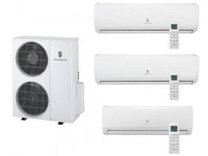 Friedrich  MR36TQY3JM19K218K Multi-Zone Ductless Split System for 3 Rooms  with 34 000 BTUs  Inverter Technology  4-Way