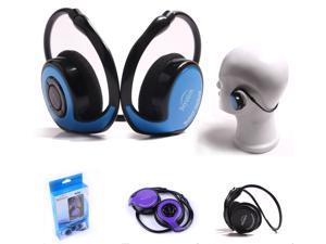 New Beyution Blue/Purple/Black Sports light Bluetooth Headphone Over Ear/Head Headset for Apple iPhone 6/6plus/5s&#59;Samsung S5/S4&#59;Nokia Toshiba Sony&#59; HTC&#59; ATT&#59; BlackBerry&#59; Smart phone- Retail Packaging
