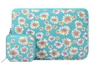 Mosiso Tablet Sleeve Case, Bohemian Style Canvas Fabric Sleeve Case Bag Cover Protective Pouch Bag for Apple iPad Air / iPad 4 3 2 / Samsung Galaxy Tab 4, 3, Note Tablets, Golden Aster