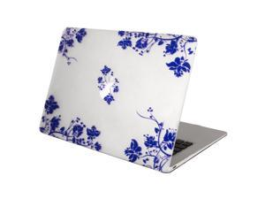 Mosiso New Macbook Case, Smooth Matte Finish Hard Shell Protective Case for MacBook 12 Inch with Retina Display A1534 [2016 / 2015 Release] (Blue and White Porcelain)