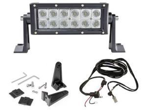 """Totron 6"""" DC Series Straight Double Row LED Light Bar TLB3036 - Combo Beam"""