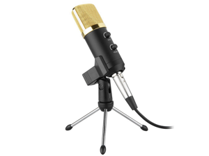 USB Condenser Sound Recording Uni-directional Microphone with Stand for Radio Braodcasting studio sound studio ect
