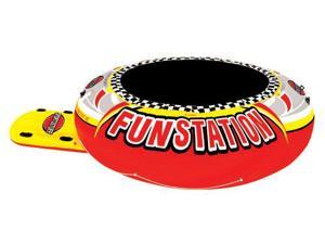 SPORTSSTUFF 12' FUNSTATION - Giant Floating Trampoline