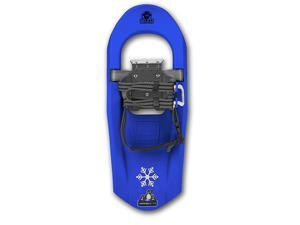 Yukon Charlie's Junior Molded Series Snowshoe - For kids up to 100lbs - Blue