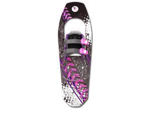 Yukon Charlie's Trek Series Snowshoe - up to 200 lbs - Black/Pink