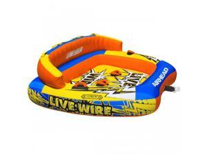 AIRHEAD LIVE WIRE 3 - 3 PERSON Inflatable Tow Tube