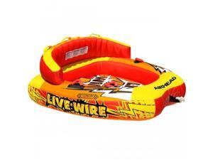 AIRHEAD LIVE WIRE 2 - 2 PERSON Inflatable Tow Tube