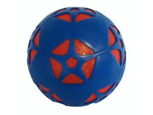 COOP Reactorz Size 4 Light-up Soccer Ball - Red Core & Blue Shield