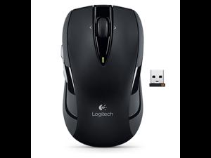Original New Logitech M545 2.4GHz Laser Track Wireless Mouse Ergonomic Computer Mice Unifying USB Receiver