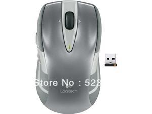 Original New Logitech M545 2.4GHz Laser Track Wireless Mouse Ergonomic Computer Mice Unifying USB Receiver