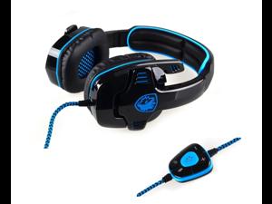 SADES SA-901 7.1 Surround Sound USB Gaming Game Headphone Headset Mic Remote for PC Laptop
