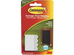 3M 17208 Command Frame Stabilizer Strips 4 sets of strips